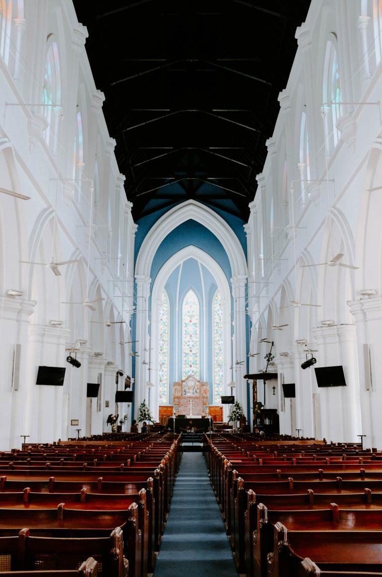 Audiovisuele oplossingen voor een kerk